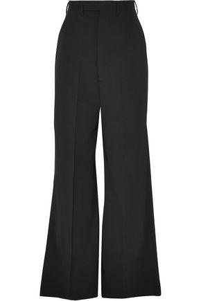 RICK OWENS Stretch-wool wide-leg pants