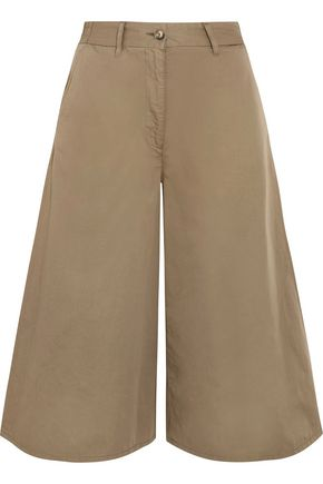 MM6 MAISON MARGIELA Cropped wide-leg cotton pants