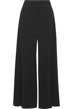 STELLA McCARTNEY Darci stretch-cady wide-leg pants