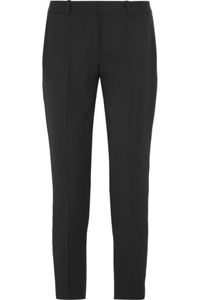 STELLA McCARTNEY Wool-twill slim-leg pants
