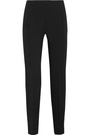 ANTONIO BERARDI Stretch-cady slim-leg pants