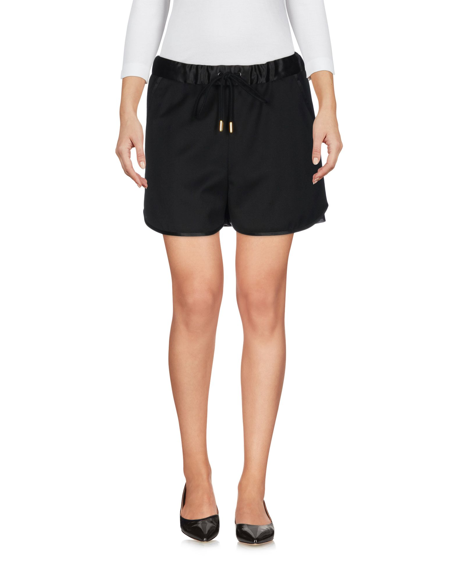 THE RERACS Shorts in Black
