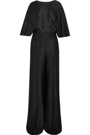 VALENTINO Cutout cloqué jumpsuit