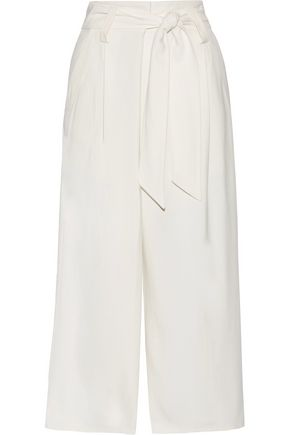 BY MALENE BIRGER Belted cady wide-leg pants