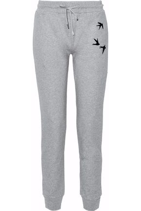McQ Alexander McQueen Printed cotton track pants