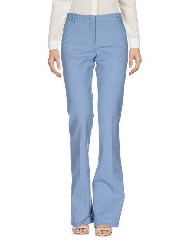 Купить Повседневные брюки от QL2  QUELLEDUE грифельно-синего цвета