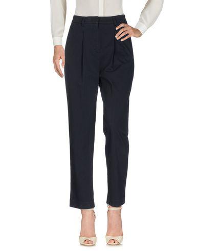 Фото - Повседневные брюки от AGLINI темно-синего цвета