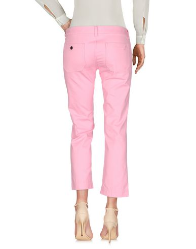 Фото 2 - Повседневные брюки от THE SEAFARER розового цвета