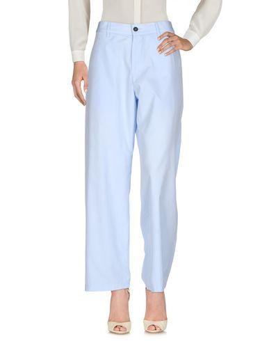 Фото - Повседневные брюки от BARENA небесно-голубого цвета