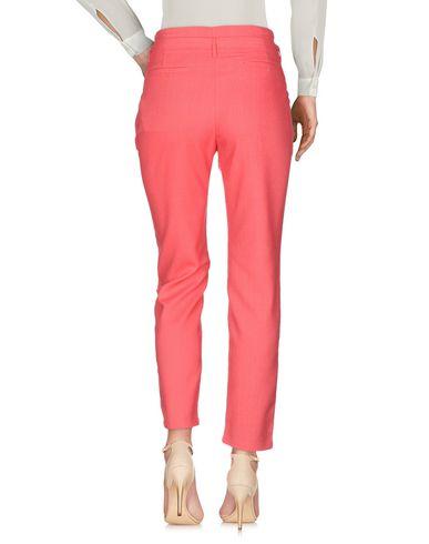 Фото 2 - Повседневные брюки от SUNCOO кораллового цвета