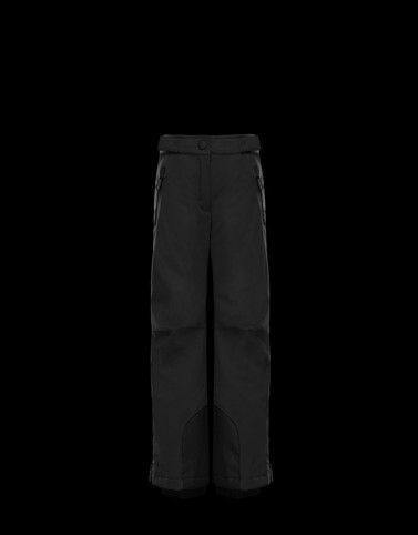 SKI TROUSERS Black Junior 8-10 Years - Girl