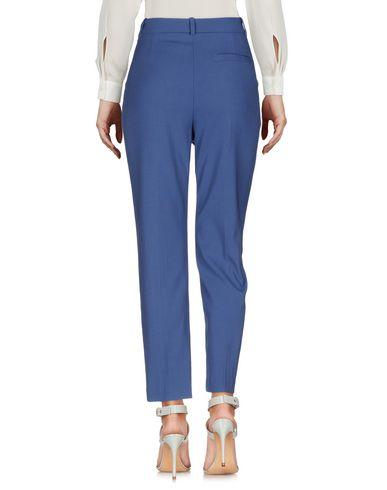 Фото 2 - Повседневные брюки пастельно-синего цвета