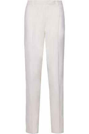 VALENTINO Wool-blend straight-leg pants