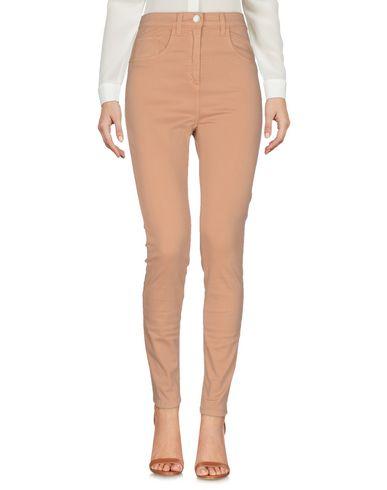 Фото - Повседневные брюки от ELISABETTA FRANCHI JEANS цвет верблюжий