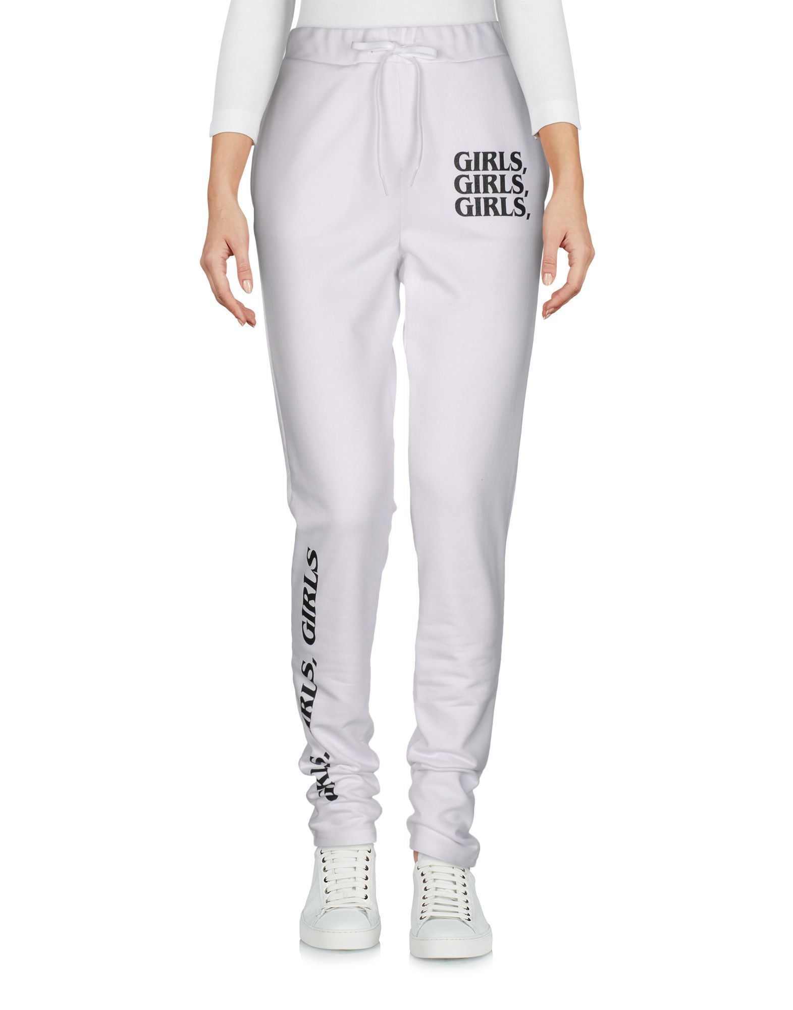 BRASHY Casual Pants in White