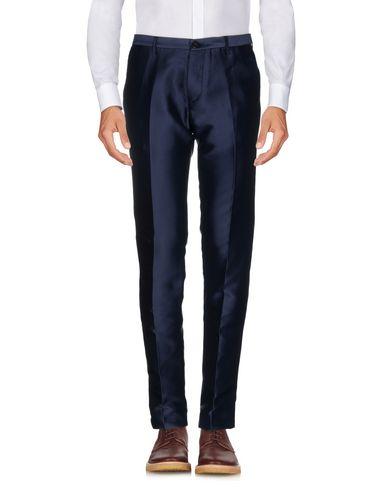 Фото - Повседневные брюки от CHRISTIAN PELLIZZARI темно-синего цвета