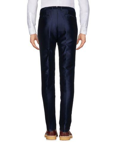 Фото 2 - Повседневные брюки от CHRISTIAN PELLIZZARI темно-синего цвета