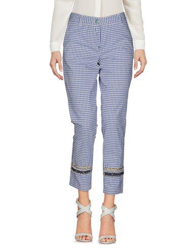 Фото - Повседневные брюки от WHITE SAND 88 синего цвета