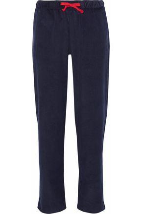 SLEEPY JONES Cotton-corduroy pajama pants
