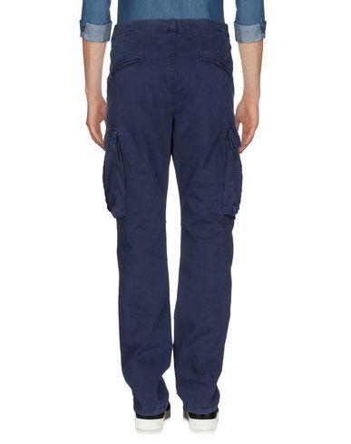 Фото 2 - Повседневные брюки от 40WEFT темно-синего цвета