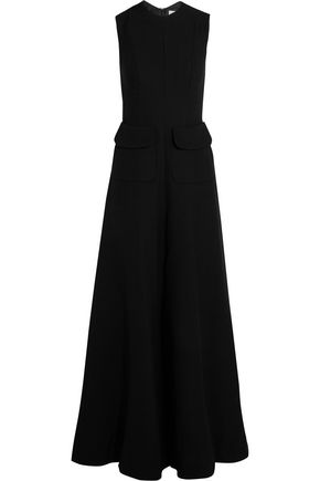 MERCHANT ARCHIVE Wool-crepe jumpsuit