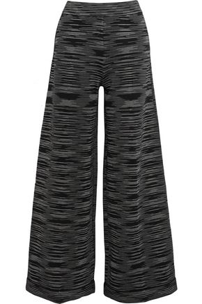 M MISSONI Crochet-knit wide-leg pants