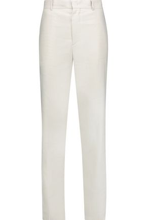 ISABEL MARANT ÉTOILE Kylie linen-blend straight-leg pants