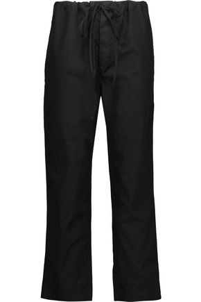 ISABEL MARANT ÉTOILE Duson cotton-broadcloth straight-leg pants