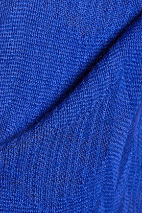 MISSONI Crochet-knit wool straight-leg pants