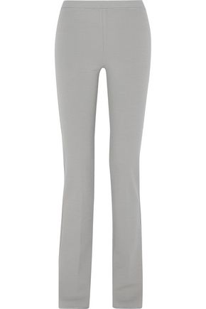 MISSONI Stretch wool-blend straight-leg pants