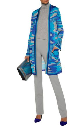 MISSONI Stretch wool-blend straight-leg pants