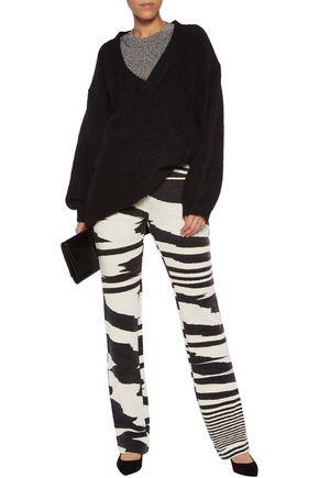 MISSONI Wool-blend jacquard straight-leg pants