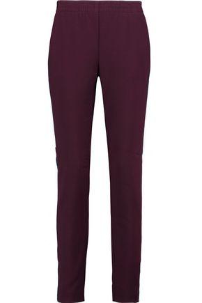 MAJE Wool-blend slim-leg pants