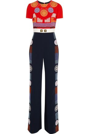 PETER PILOTTO Pylos embroidered crepe jumpsuit