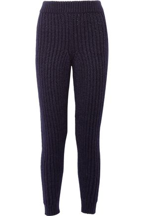 J.W.ANDERSON Ribbed alpaca-blend leggings