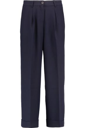 IRIS & INK Esther crepe wide-leg pants