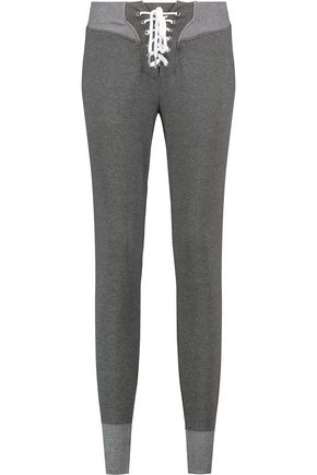W118 by WALTER BAKER Sara stretch-cotton jersey track pants