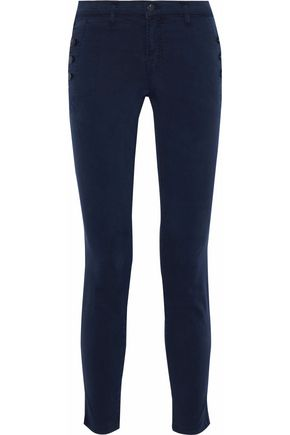 J BRAND Zion stretch-cotton twill skinny pants