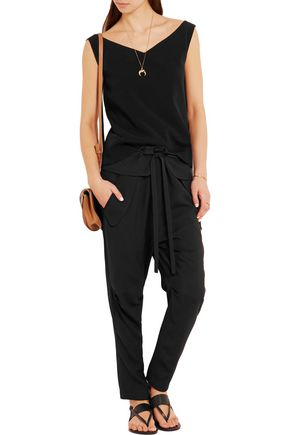 CHLOÉ Pirate crepe tapered pants