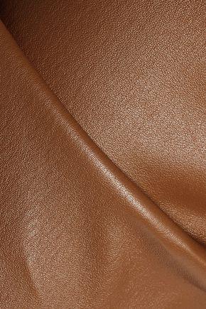 JOSEPH Stretch-leather leggings