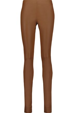 adcc1b2c1d589 Stretch-leather leggings | JOSEPH | Sale up to 70% off | THE OUTNET