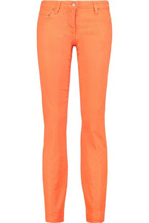ROBERTO CAVALLI Cotton-blend skinny pants