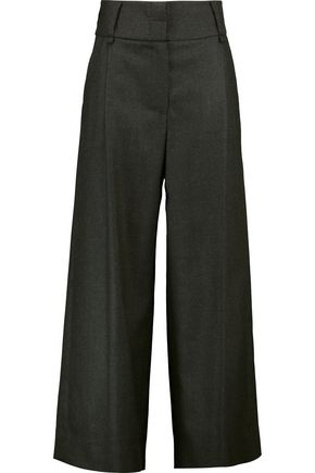 VIVIENNE WESTWOOD ANGLOMANIA Glade wool-twill wide-leg pants
