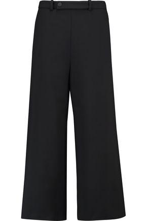MAJE Twill wide-leg pants