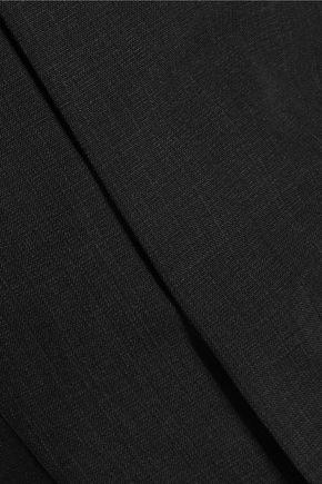 MARNI Printed crepe straight-leg pants