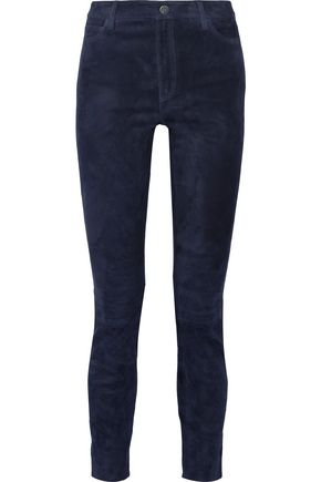 M.I.H JEANS Bridge suede skinny pants