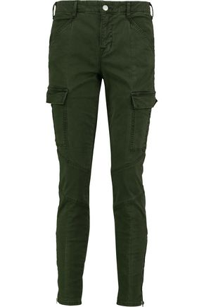 J BRAND Houligan cotton-blend twill skinny pants