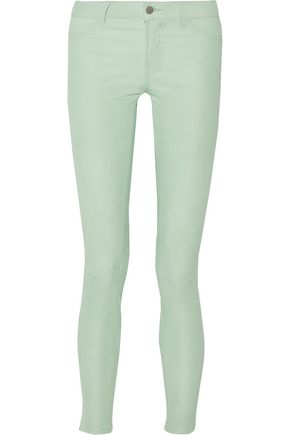 5252cc54cc47 J BRAND Stretch-leather skinny pants ...