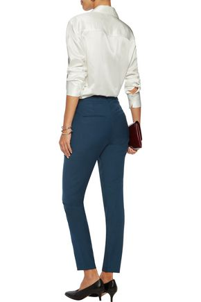 BY MALENE BIRGER Teodosiah twill slim-leg pants