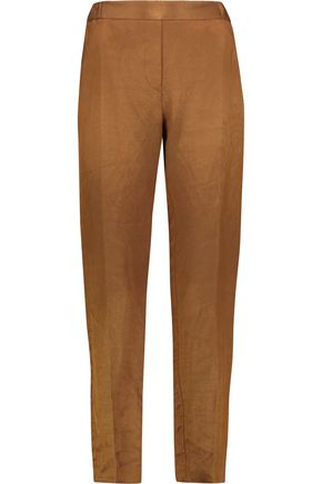 MM6 MAISON MARGIELA Linen-blend tapered pants